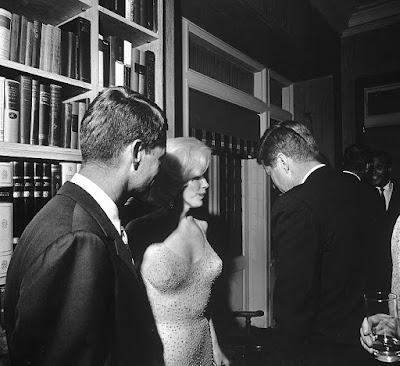 Marilyn Monroe John Kennedy Bobby Kennedy
