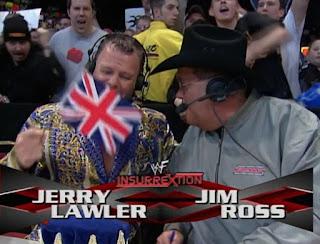 WWF Insurrexion 2002 - Jerry Lawler & Jim Ross