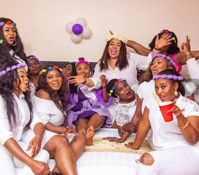 Latest Bridal Shower Dresses in Nigeria
