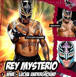 Rey Mysterio Jr.(レイ・ミステリオ・ジュニア)、新日本プロレスに緊急参戦