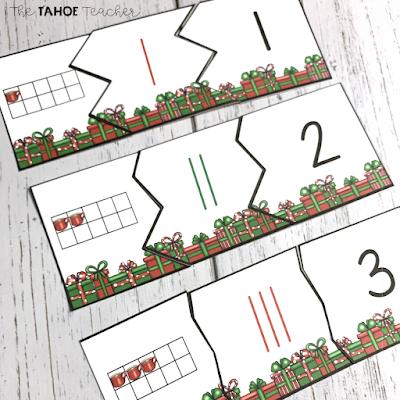kindergarten-december-math-centers