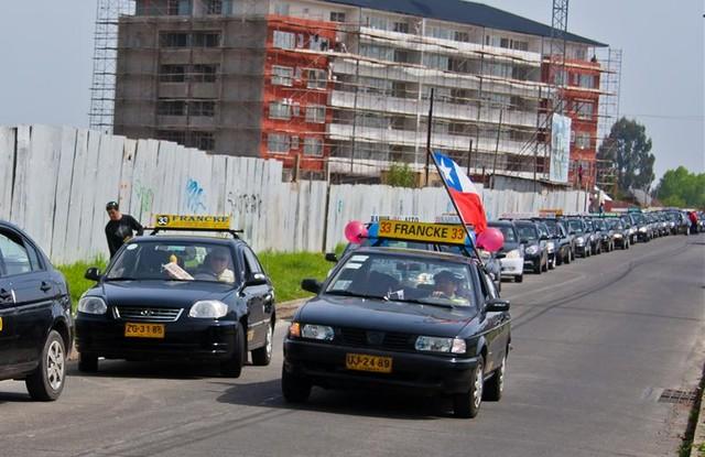 🚖 Movilización nacional de taxis colectivos ▶️