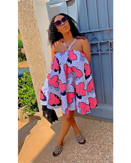2019 Adorable Ankara Short Gown Styles