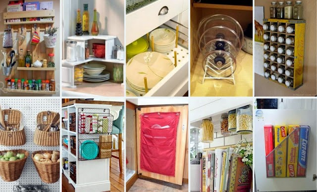 Ιδέες Οργάνωσης-Τακτοποίησης για την Κουζίνα