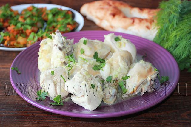 рецепт квту-дзырта цыпленка по-абазински