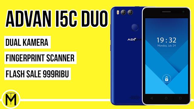 Keinginan vendor Advan kini ini tercapai Advan i5c Duo Flash Sale di Shopee Hanya Rp.999.000 Pesaing Xiaomi Redmi 5A