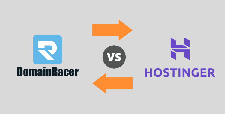 domainracer vs hostinger hosting