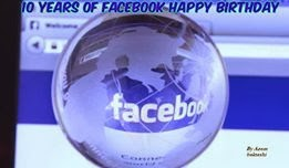 Hurray! Facebook is 10!