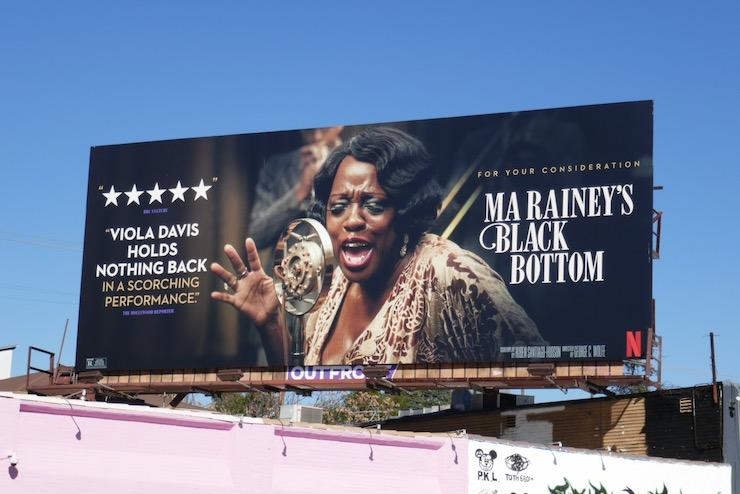 Viola Davis Ma Rainey's Black Bottom FYC billboardViola Davis Ma Raineys Black Bottom FYC billboard