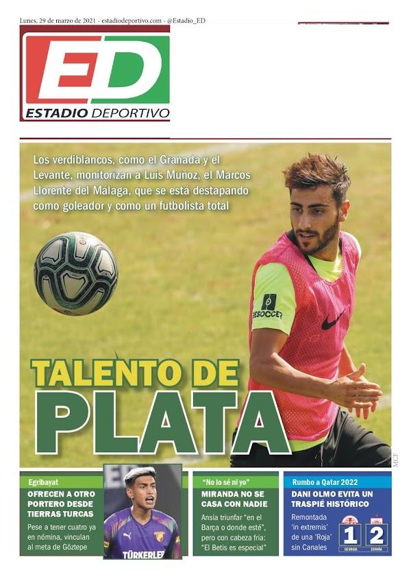 "Betis, Estadio Deportivo: ""Talento de Plata"""