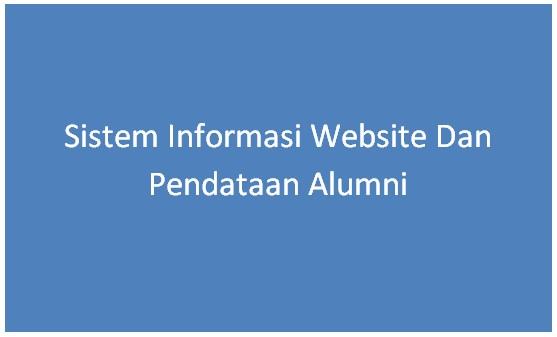 Ilustrasi Web Sistem Informasi