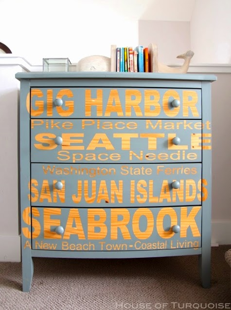 24 Dresser Makeover Ideas Coastal Beach Amp Nautical Style
