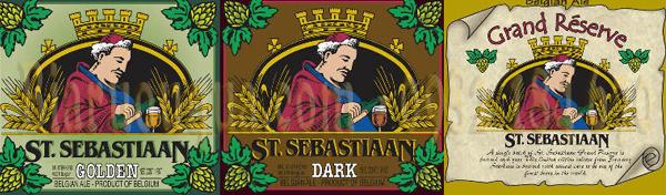 Hình ảnh : Logo nhãn hiệu Bia St. Sebastiaan Grand Cru của nhà Sterkens