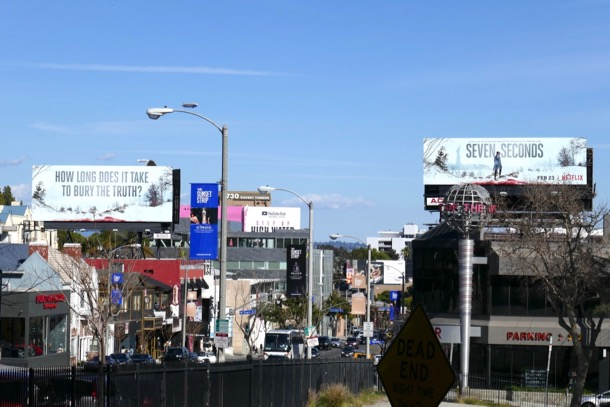 Seven Seconds Netflix series billboard