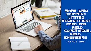 Bihar grid company limited (BGCL)  Recruitment 2020
