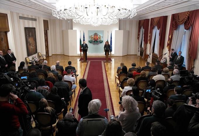 Изявления на президента Румен Радев и вицепрезидента Илияна Йотова по време на отчетната пресконференция по повод третата година от встъпване в длъжност
