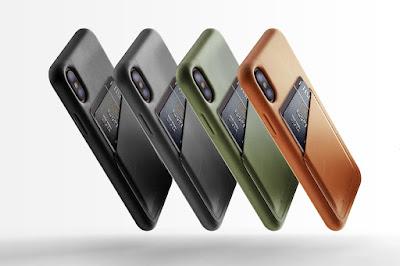 909c83bde7a Fundas para iPhone X de cuero, por Mujjo: entre 44,90 y 49,90 euros. En  tres colores (marrón, negro y verde oliva), tiene opción para guardar  tarjetas o ...