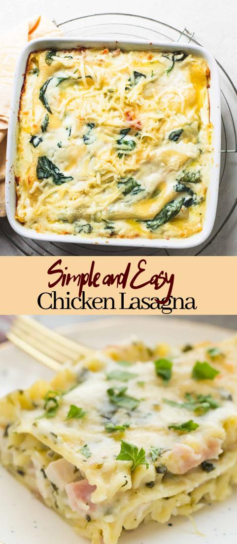 Chicken Lasagna #vegan #vegetarian #soup #breakfast #lunch