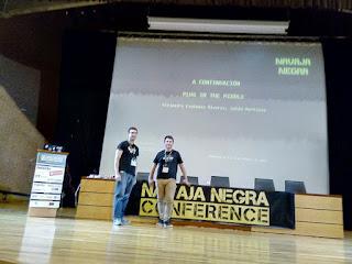 Navaja Negra 2019 - Alejandro Espinosa y Julio Martínez