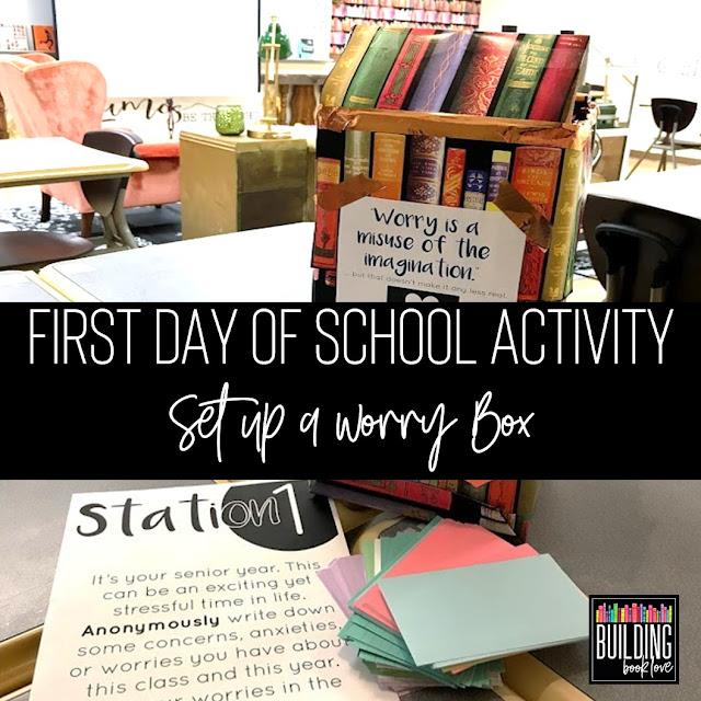 Classroom Worry Box