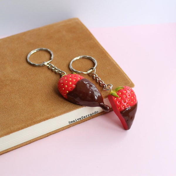 chocolate%2Bdipped%2Bstrawberry%2Bpolymer%2Bclay%2Bearrings