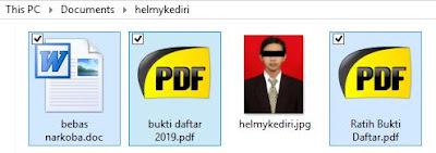 Cara menyembunyikan file didalam gambar