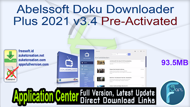 Abelssoft Doku Downloader Plus 2021 v3.4 Pre-Activated