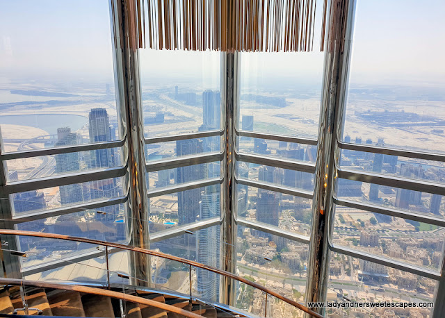 view from Atmosphere Burj Khalifa