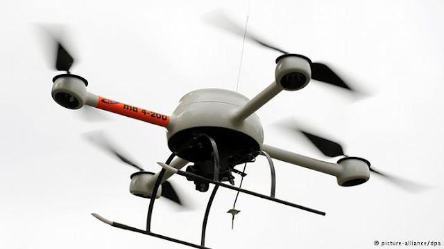 طائرات بدون طيار للبحث عن الألغام الأرضية