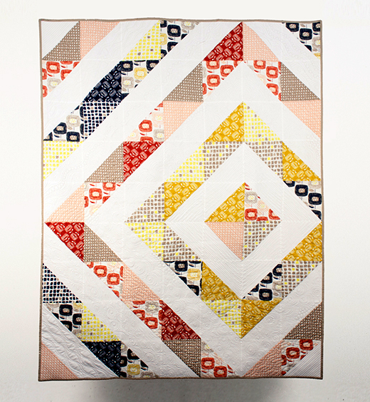 Around the Block Quilt Free Pattern