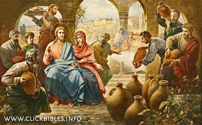 jesus first miracle water into wine - यीशु मसीह का पहला चमत्कार क्या है?