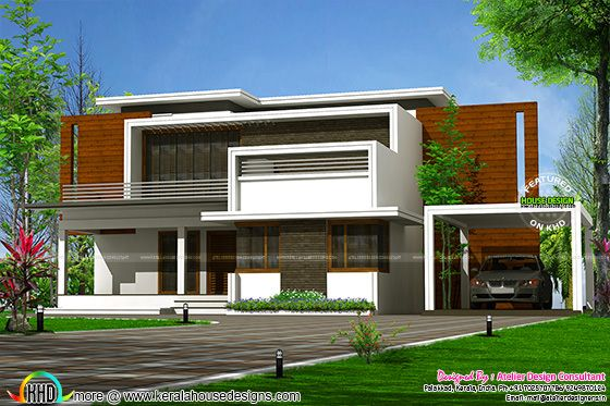 2780 sq-ft contemporary home