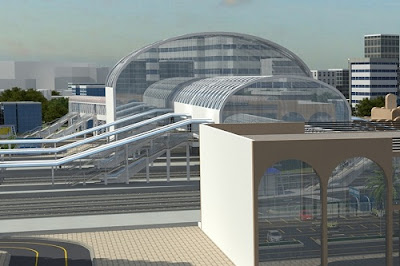 Fifty Railway Station Restructured