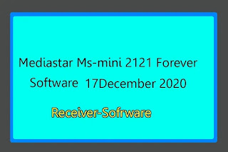 Mediastar Ms-mini 2121 Forever Software 17 December 2020