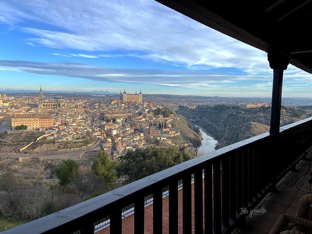 Parador de Toledo, vista