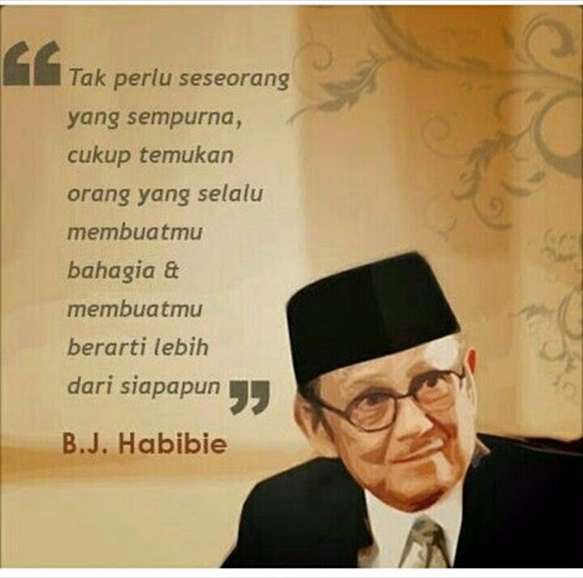Quote BJ Habibie