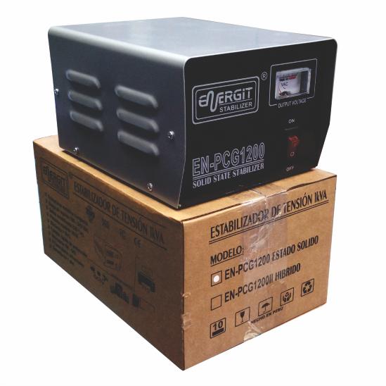 Estabilizador solido 220vac EN-PCG1200 para PC S/98.99
