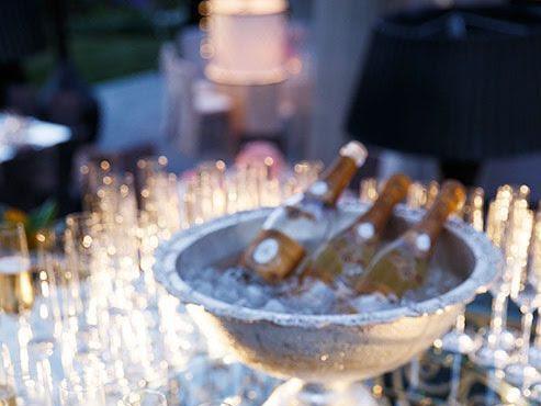 Como organizar uma Recepção Bolo com Champagne