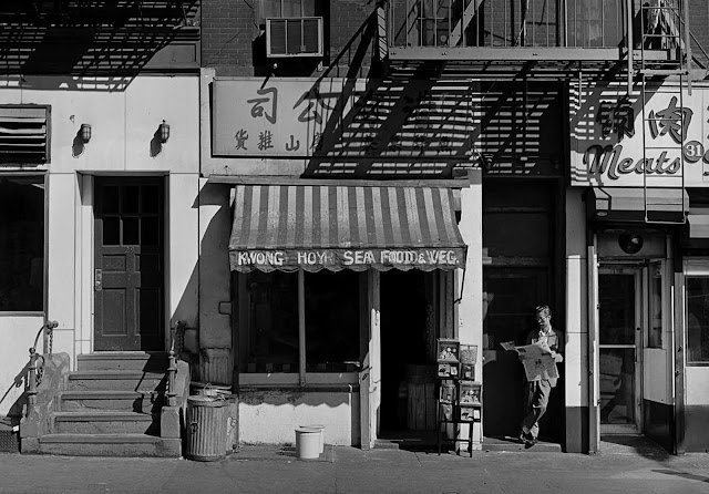 Storefronts on Catherine St, 1981.