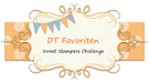 DT Favorites Sweets Stampers challenge nº5