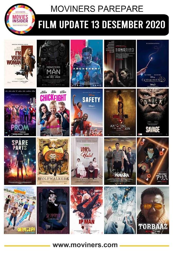 FILM UPDATE 13 DESEMBER 2020