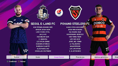 PES 2020 PS4 Option File K League by Rominh Korea