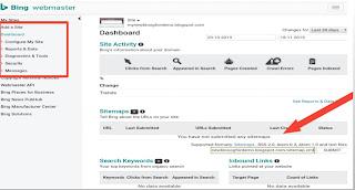 Submit-sitemap-bing-webmaster-tool
