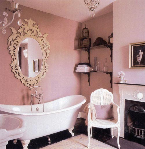Shabby Chic Bathrooms: Shabby Chic Apartment Ideas