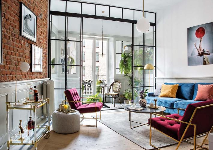 Una vivienda de 100 años renovada con un diseño moderno