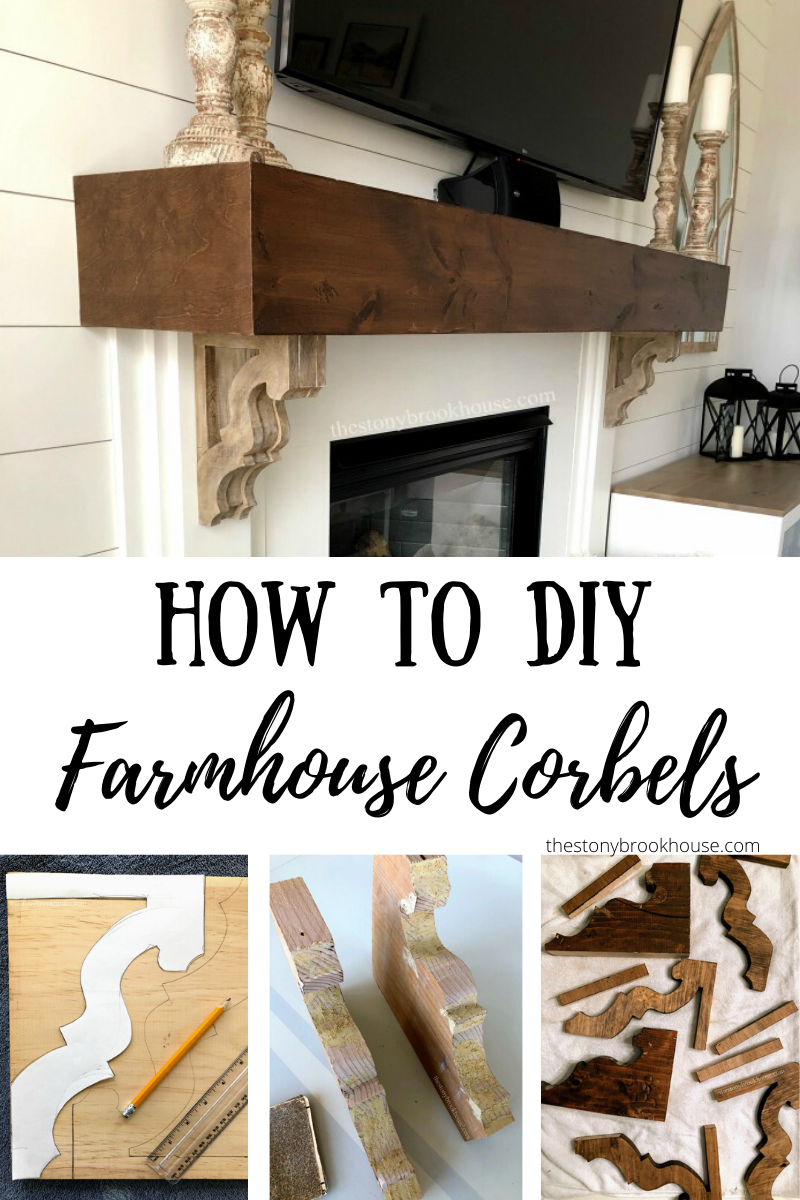 How To DIY Farmhouse Corbels
