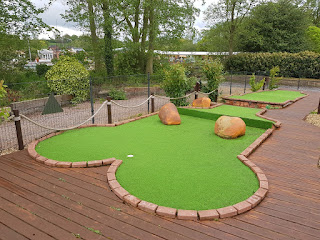 Jurassic Golf at Wyevale's Bridgemere Garden Centre in Nantwich