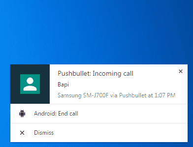 Cara Mendapatkan Notifikasi Android di Windows 10 - Pushbullet 5