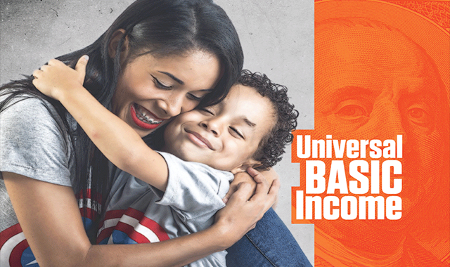 Basic Universal Income #infographic