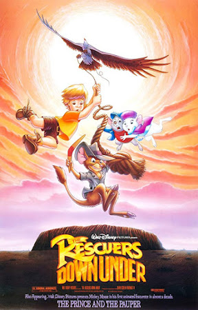 Poster Of The Rescuers Down Under 1990 In Hindi Bluray 720P Free Download